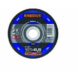 disco corte 125x1x22.23 inox xt38 rhodius