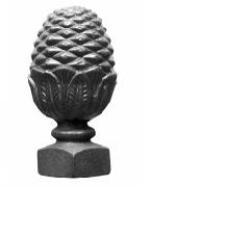 remate piña re012 150 mm hierro fundido
