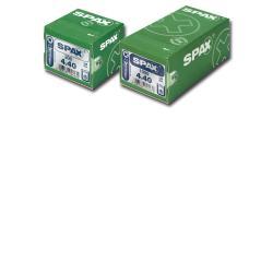 tornillo spax-s 3.5x30 c/r negro 1000 unid.