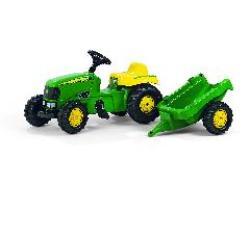 tractor infantil con remorque john deere