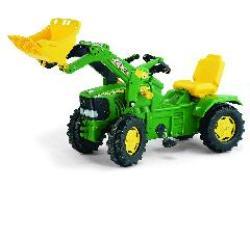 tractor excavadora john deere